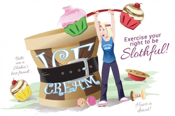 Exercise Your Right To Be Slothful!