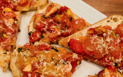 Try Your Hand at Augusta Chef Frank Kassner's Tomato Bruschetta